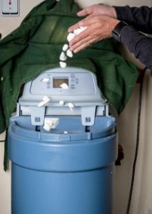 voorbeeld zout waterontharder